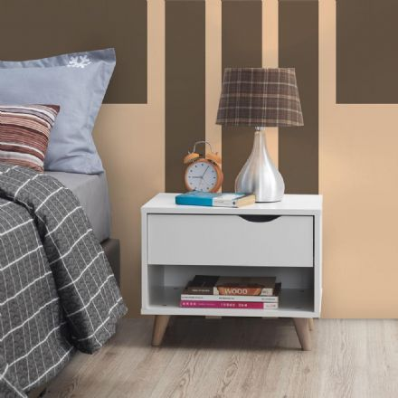 Pulford Nightstand with 1 Drawer